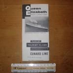 Cunard Line: QE TC deckplan 1960ish MM17
