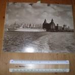 Canadian Pacific: Empress of Scotland: hanging postcard
