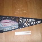 Avalon: Felt Souvenir Pennant