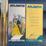 Chandris: Atlantis Holiday Program and Ship Flyer set