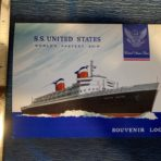 United States Lines: SSUS log card 308 West