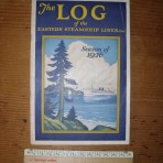Eastern Steamship Lines 1926 log booklet