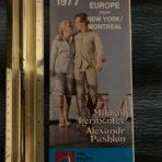 Black Sea Shipping: 1977 Sailings to Europe Lermontov and Pushkin