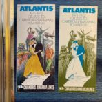 Chandris: SS Amerikanis 71-72 Deck Plan Brochure and rates brochure for cruises from Freeport